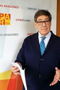 El PAR lleva al Pleno de las Cortes el Impuesto de Sucesiones  y la Pesca Deportiva en Aragón