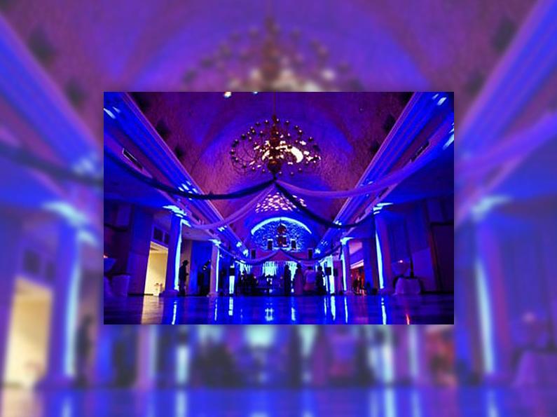 lighting rentals bistro style led