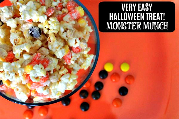 Easy Halloween Treat: Monster Munch