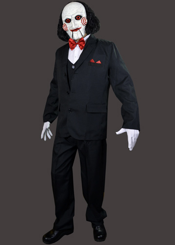Jigsaw Puppet Costume & Diy Billy The Puppet Costume | Poemsrom.co