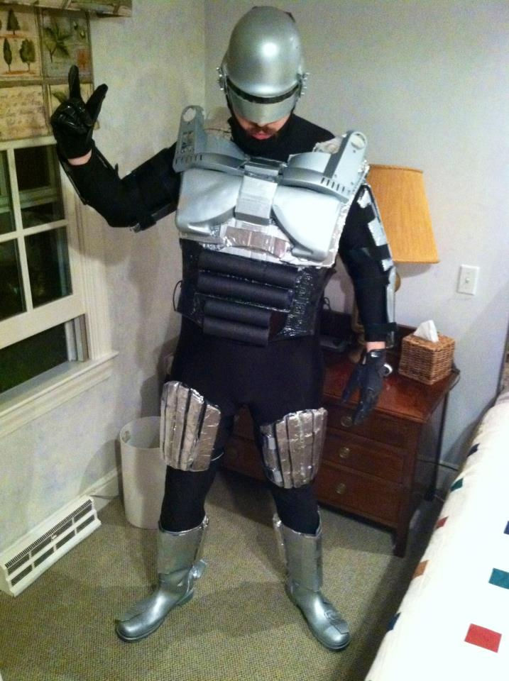 Costume Homemade Robocop