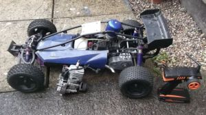 XRC 1/5 Petrol RC car