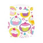 Parti temanıza uygun plastik parti hediye poşeti 16x24cm ebatlarındadır. Minik misafirleriniz için cupcake
