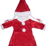 Bebekler için lüks yılbaşı kostümü