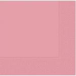 33 cm x 33 cm ebatında açık pembe renkte çift katlı kaliteli kağıt peçete. Peçeteler klorsuz ve su bazlıdır. Bir pakette 20 adet mevcuttur.