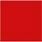 33 cm x 33 cm ebatında kırmızı renkte çift katlı kaliteli kağıt peçete. Peçeteler klorsuz ve su bazlıdır. Bir pakette 20 adet mevcuttur.
