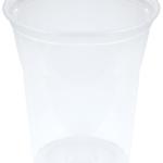 Şeffaf plastik kullan at meşrubat ve bira bardağı