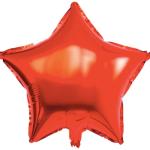 Yıldız Folyo Balon Kırmızı