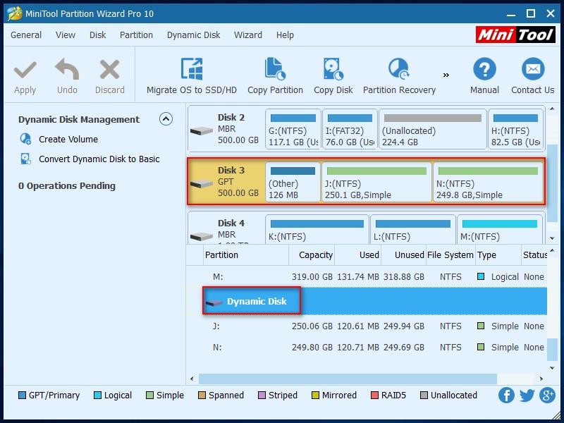 Convert Dynamic Disk to Basic Disk 1