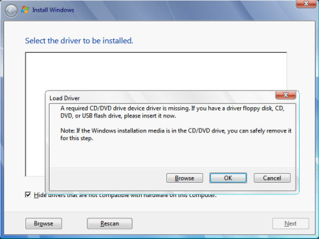 Setup was Unable to Create a New System Partition-1