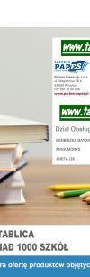 2018 - Gazetkado Programu Aktywna Tablica - Papes - Baner 2400X922