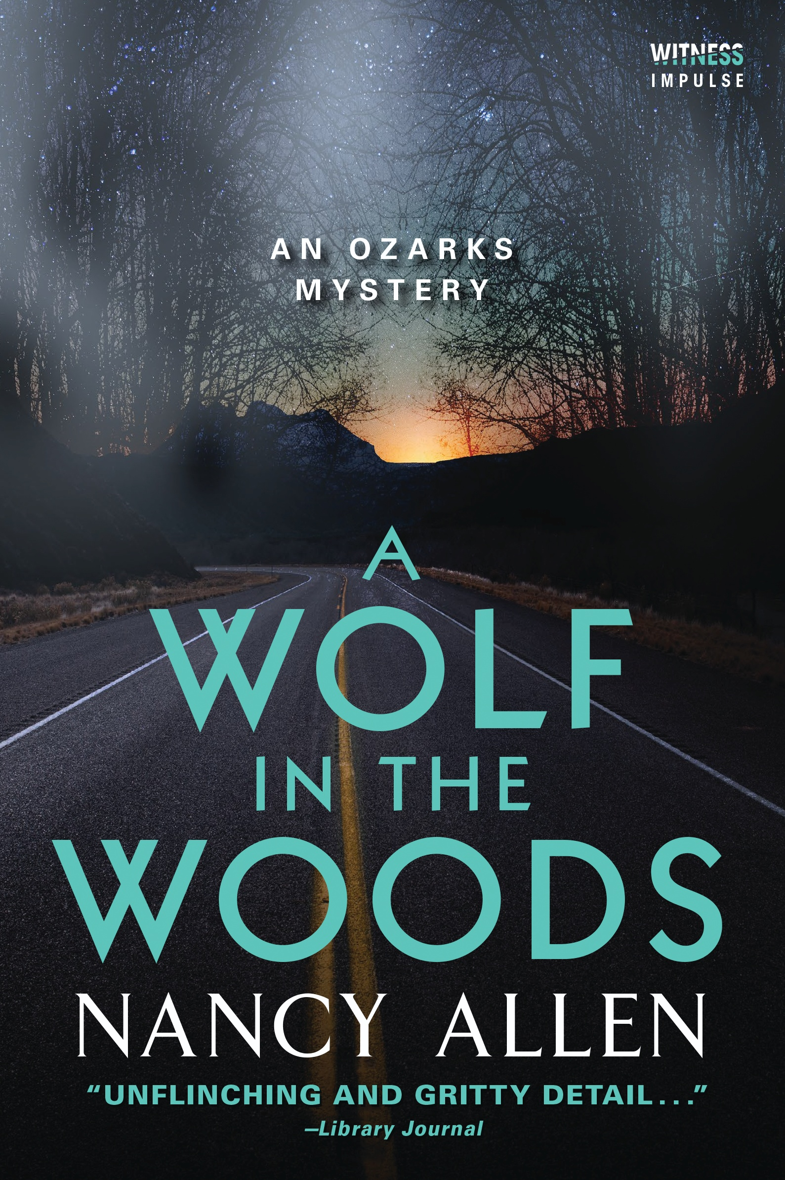 A Wolf in the Woods by Nancy Allen