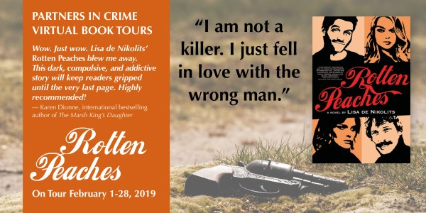 Rotten Peaches by Lisa de Nikolits Tour banner