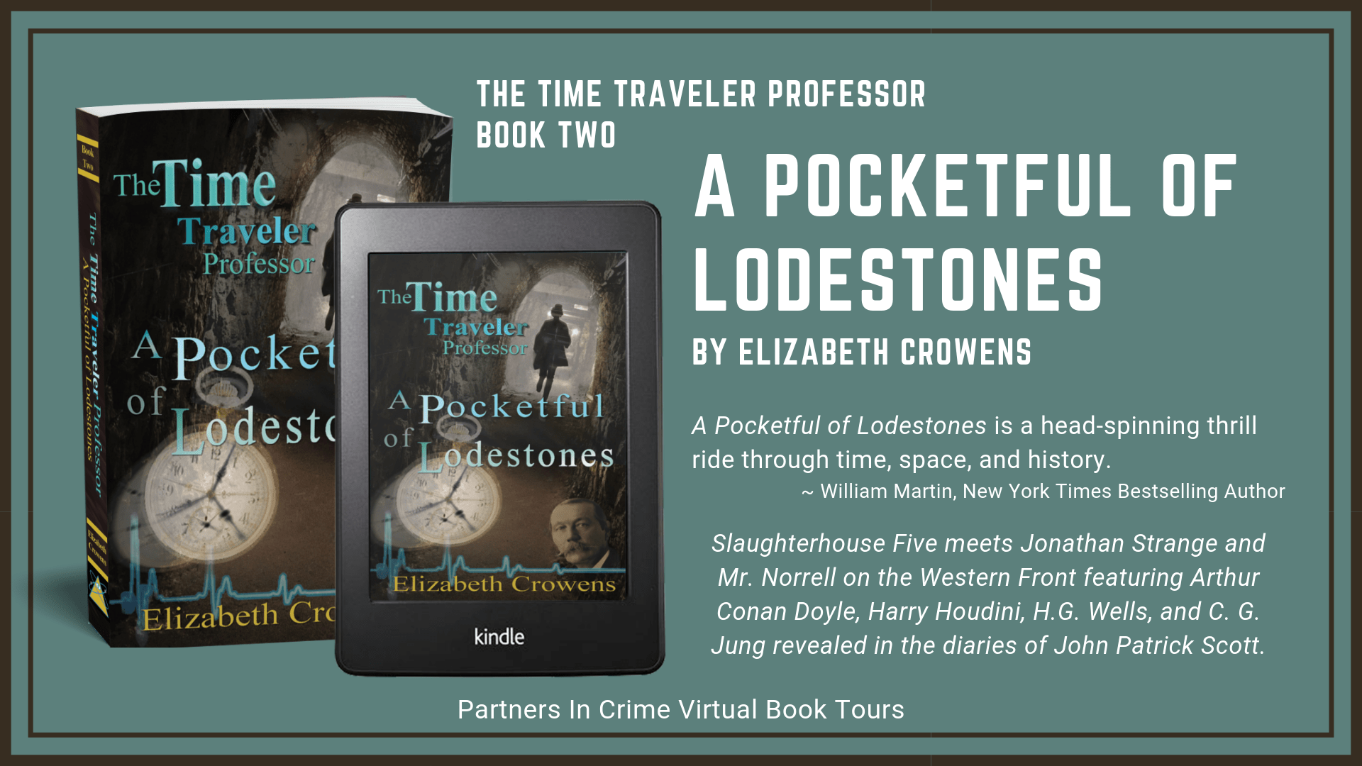 A Pocketful Of Lodestones by Elizabeth Crowens