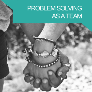 Teamwork - Partners to Parents - Problem solving as a team