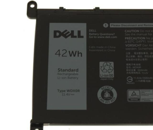 42wh 4 Cell Original Dell Inspiron 15 5568 Laptop Battery Wdx0r