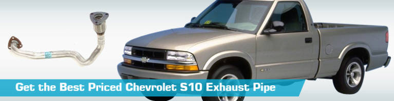 chevrolet s10 exhaust pipe exhaust