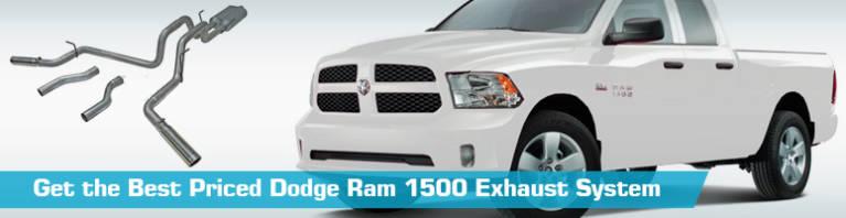dodge ram 1500 exhaust system cat