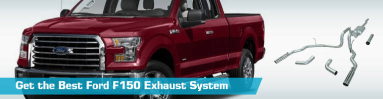 ford f150 exhaust system cat back