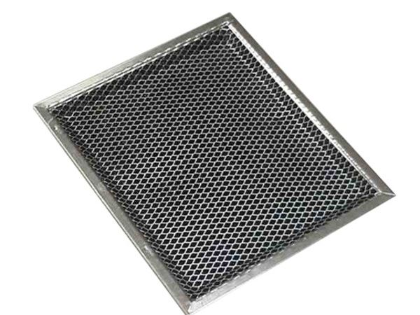 ge general electric hotpoint sears kenmore microwave oven range vent hood combination charcoal grease filter part wb02x10700