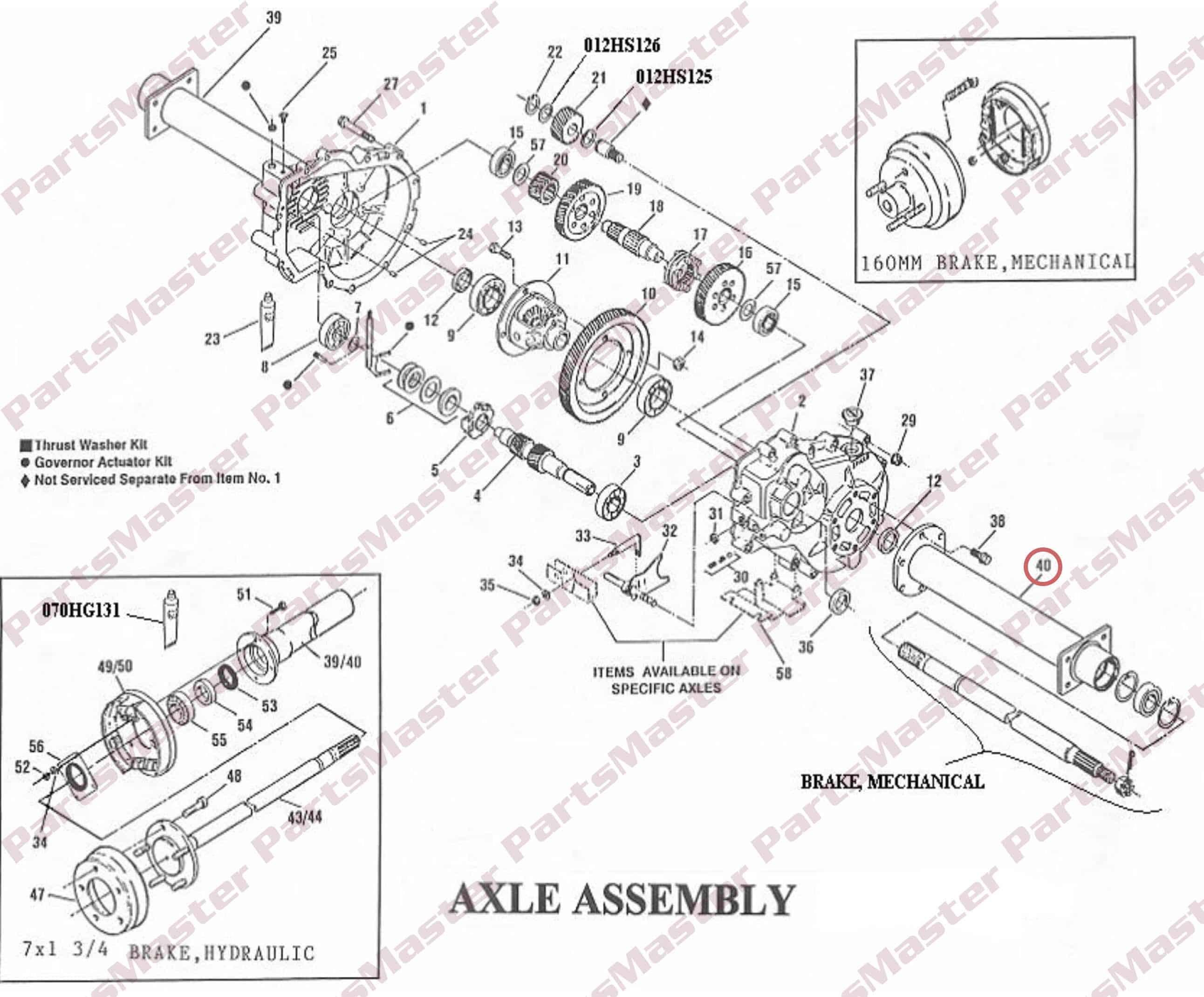 G 300 Tube Assembly Lh