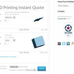 PartSnap 3D Printing Instant Quote Preview - Multiple File and Units Management