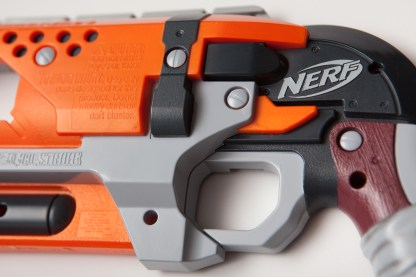The outside of the Hammershot's left shell. No alterations (yet).