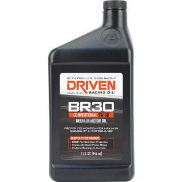 Driven Racing Oil: BR30 5W-30 Break-In Oil