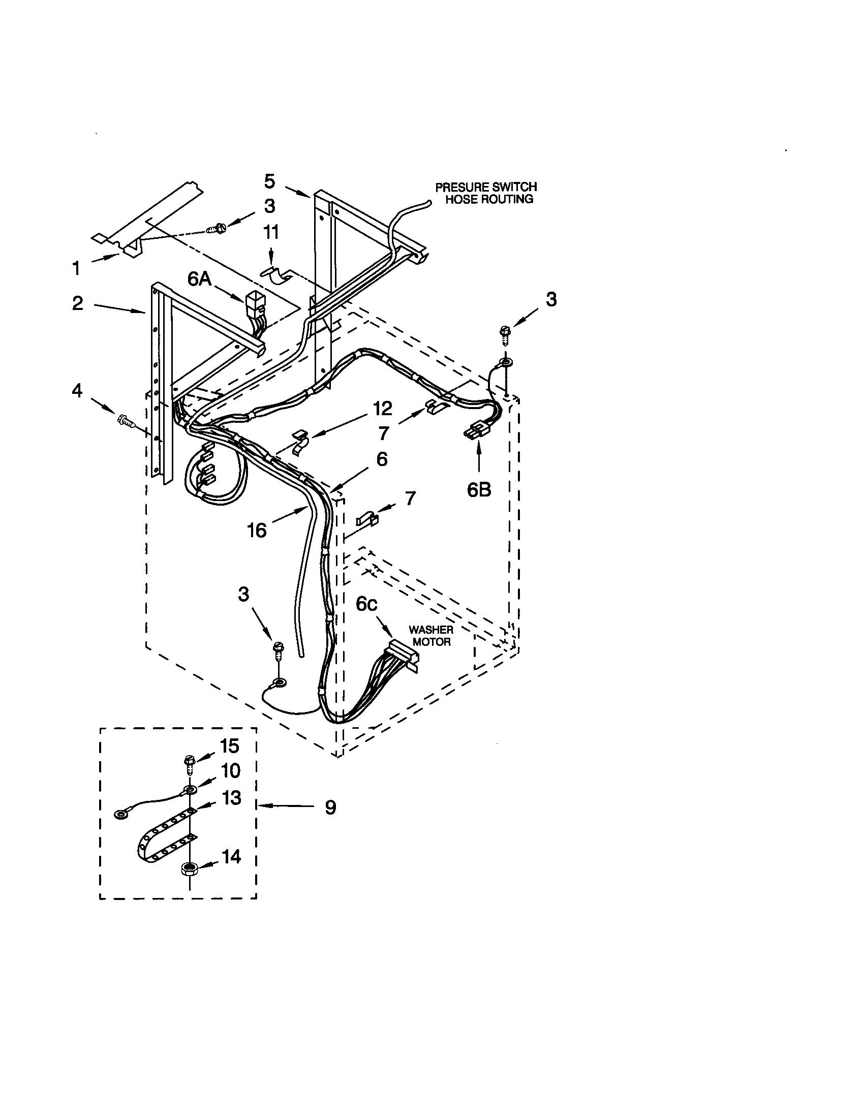 Kenmore Dryer Diagrams