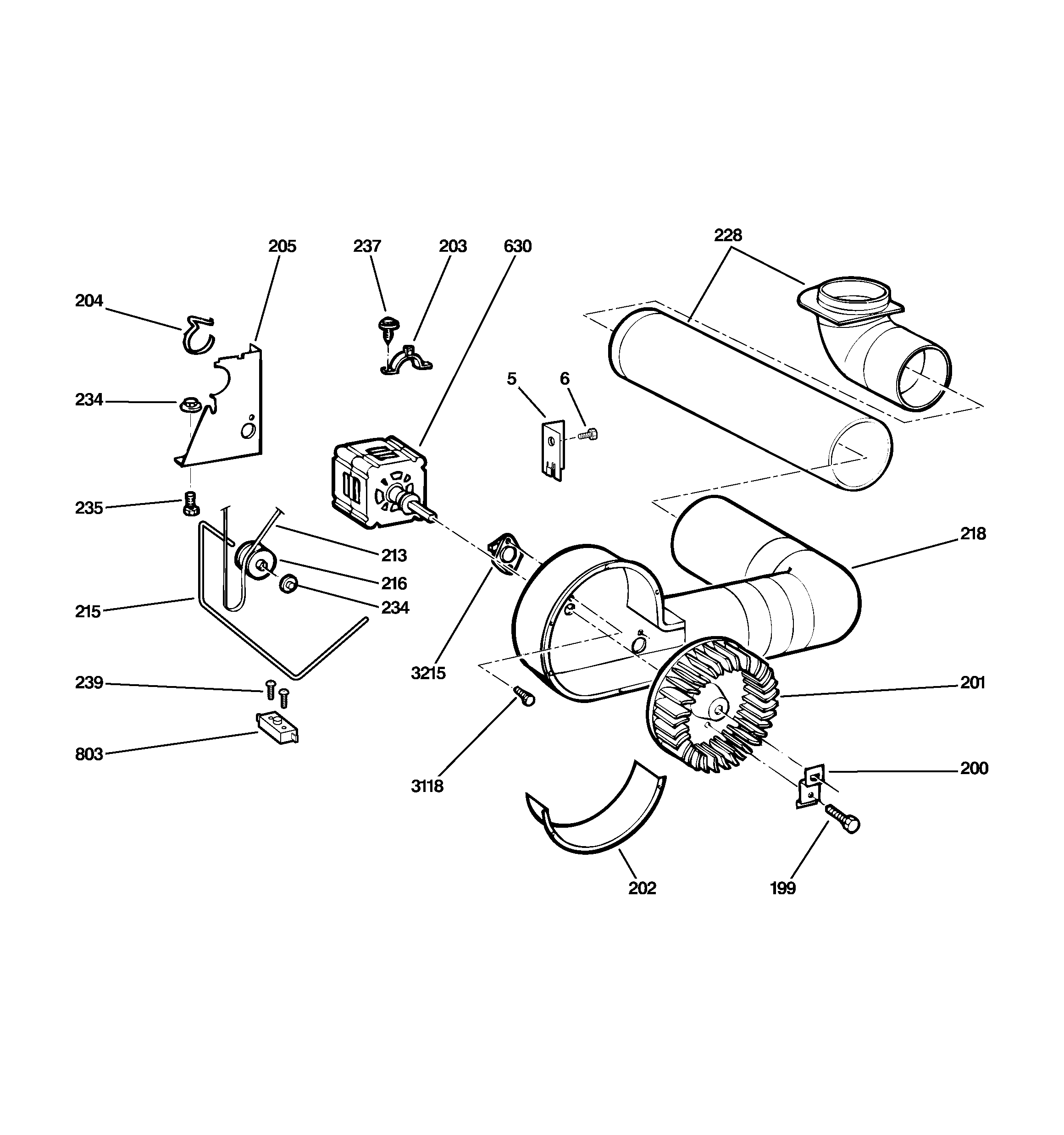 Ge Dryer Parts Diagram