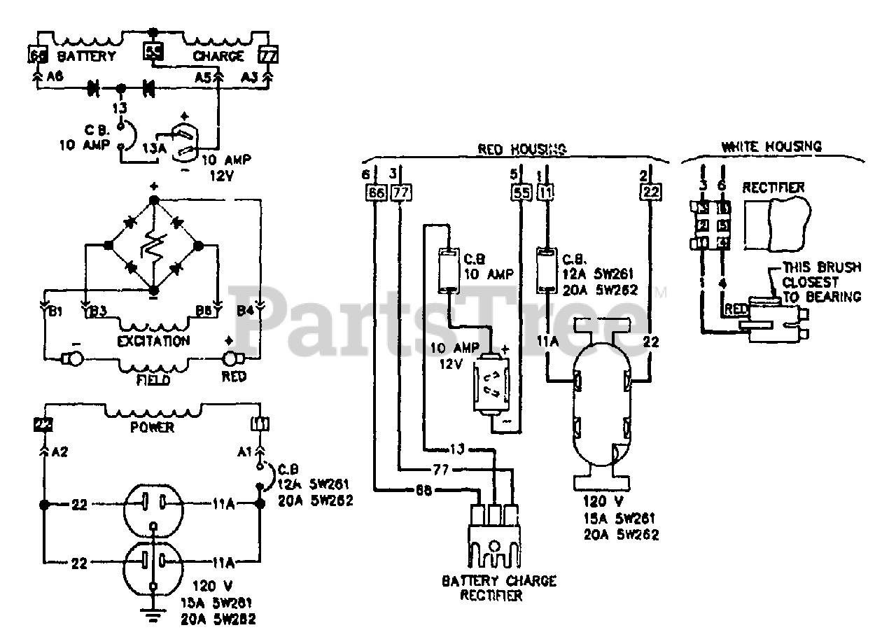 Generac 5w260 0