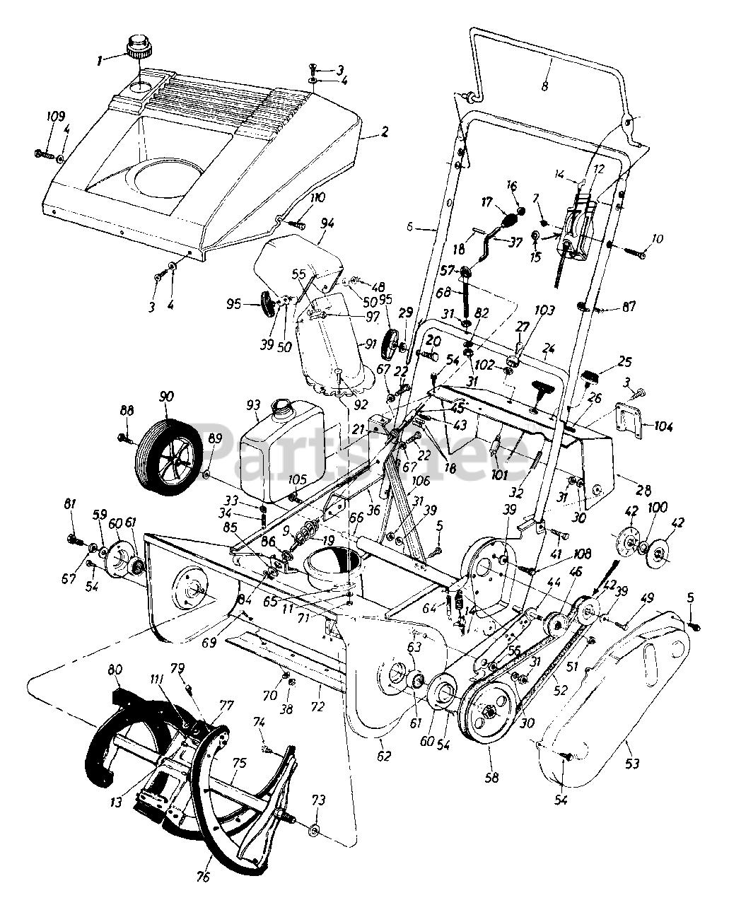 Diagram Mtd Montgomery Ward Mdl Tmo Wiring Diagram Full