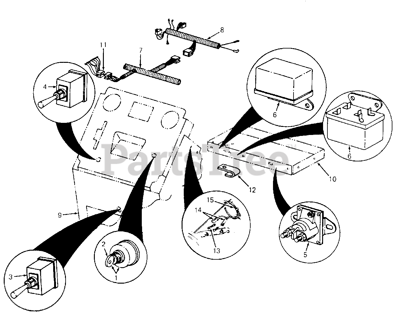 Cub Cadet 71 Wiring Diagram