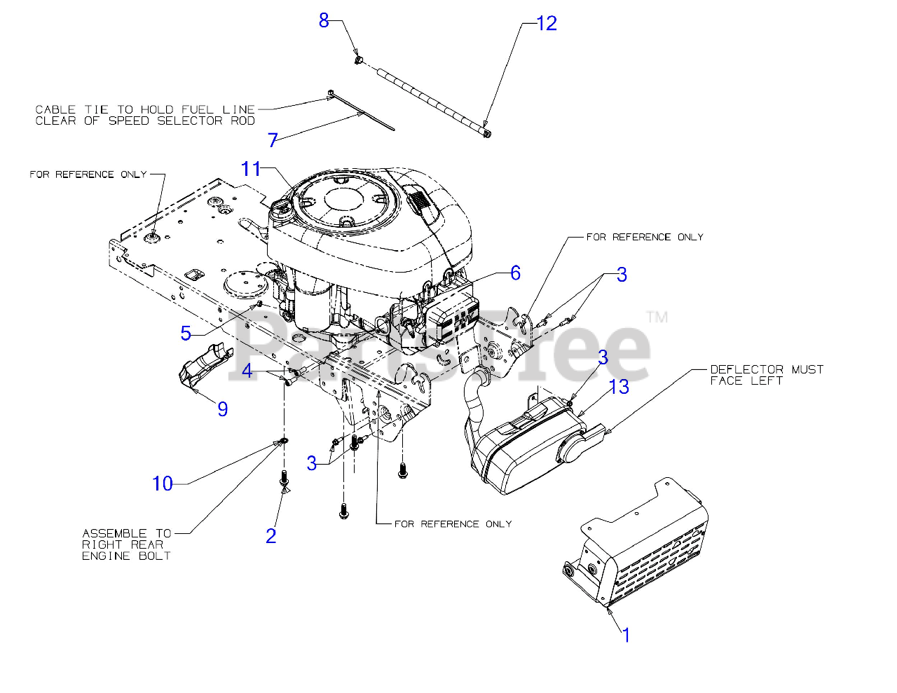 Craftsman 247 13bl78xt099