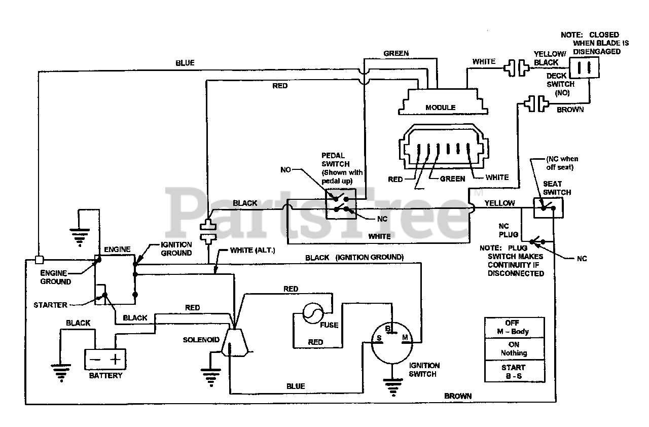 Wiring Diagram Snapper Rider
