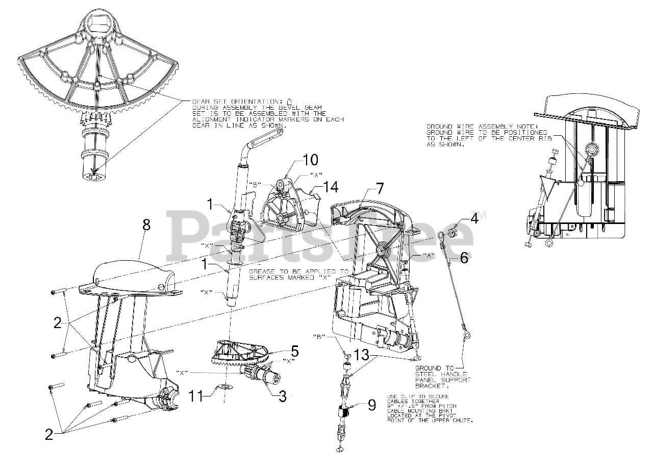 30 Craftsman Snowblower Parts Diagram