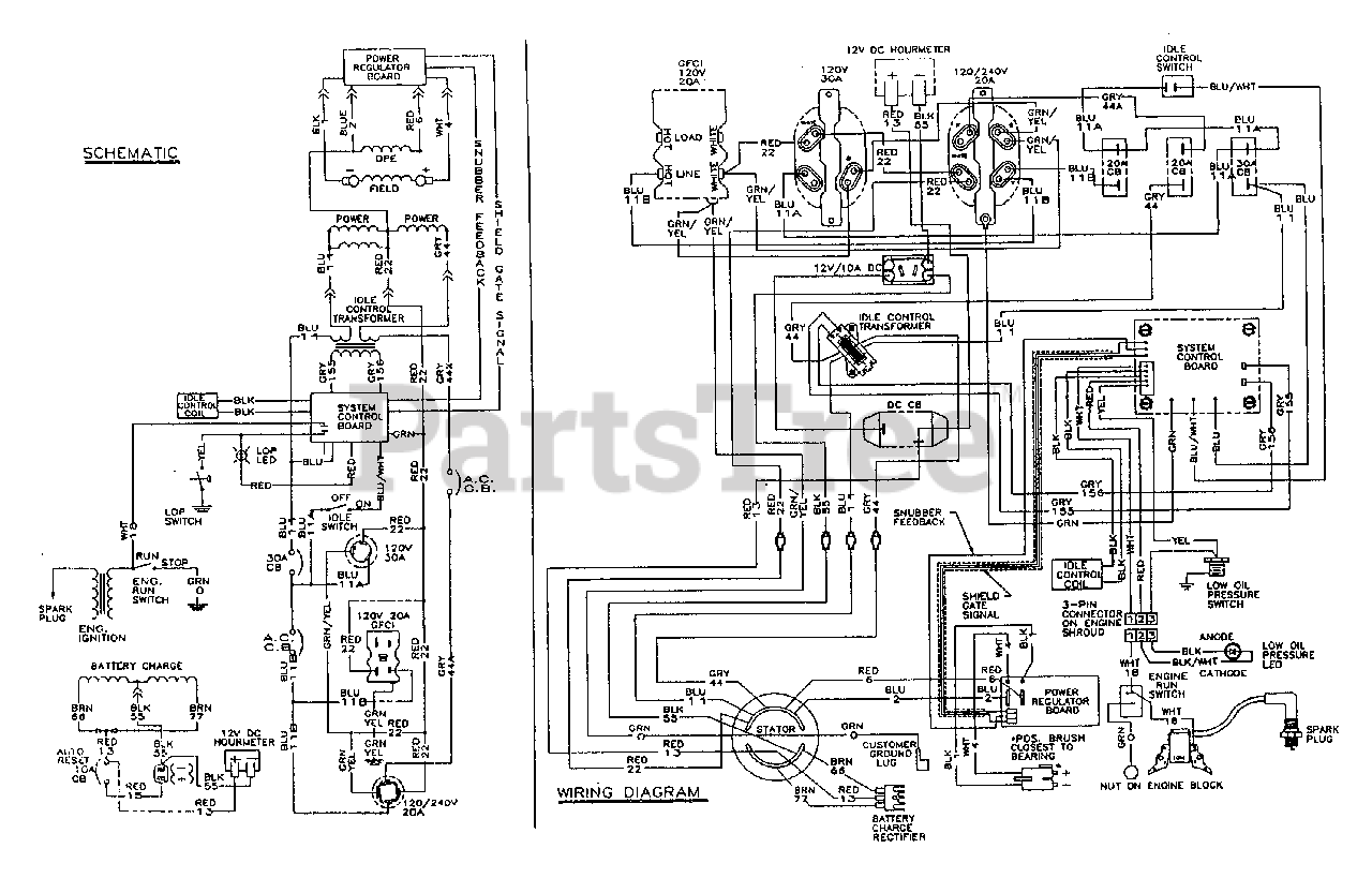 All Power Generator Wiring Diagram