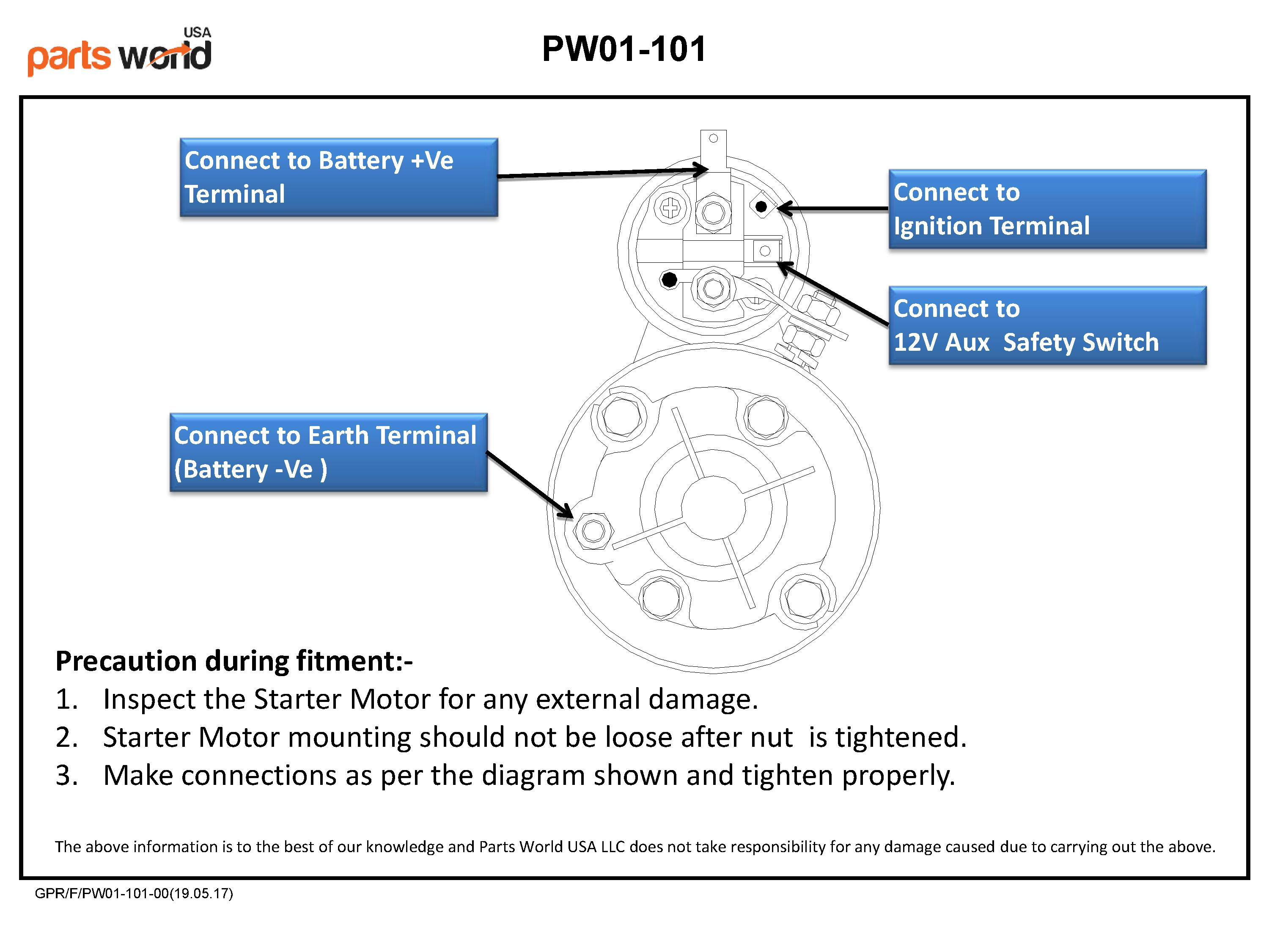 Ford 1700 Wiring Diagram