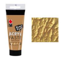 Marabu Acryl Paste, 100 ml, Gold