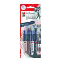Marabu Art Crayon Wachsstifte-Set Essential