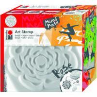 Marabu Art Stamp Stempel, 16cm, Rose