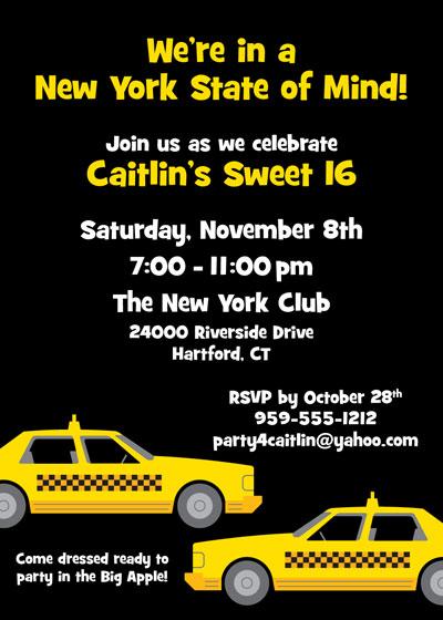 Custom Invitations New York