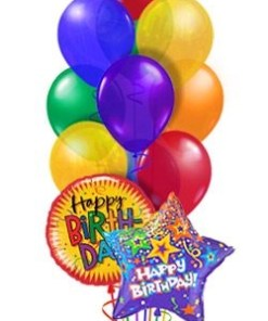 PARTY BALLOONSBYQ classic_birthday_balloon_bouquet_1 Party Balloons by Q
