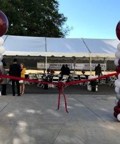 grand opening balloon columns