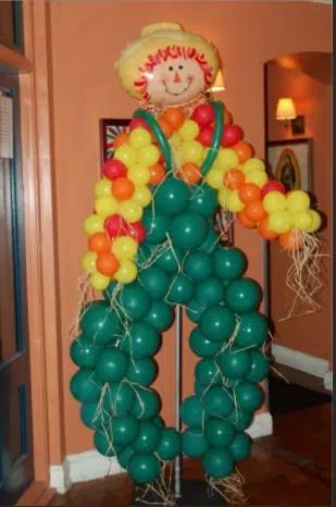 Straw Balloon Man