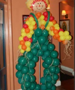 Straw Balloon Man