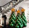 Balloon Christmas Trees