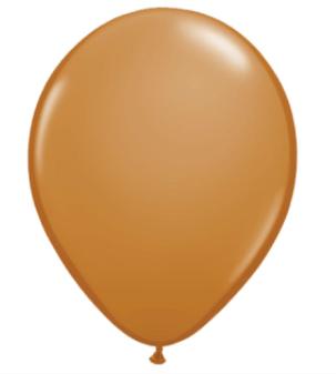 Mocha Brown Latex Balloon