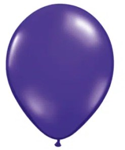 Quartz Purple Latex Balloon