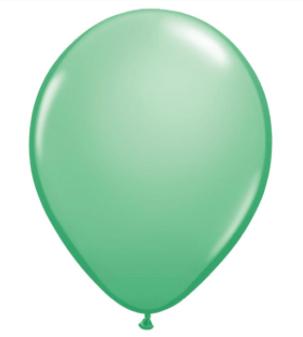 Wintergreen Latex Balloon